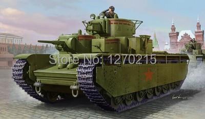 Hobby Boss model 83841 1/35 Soviet T-35 Heavy Tank - Early plastic model kit(China (Mainland))