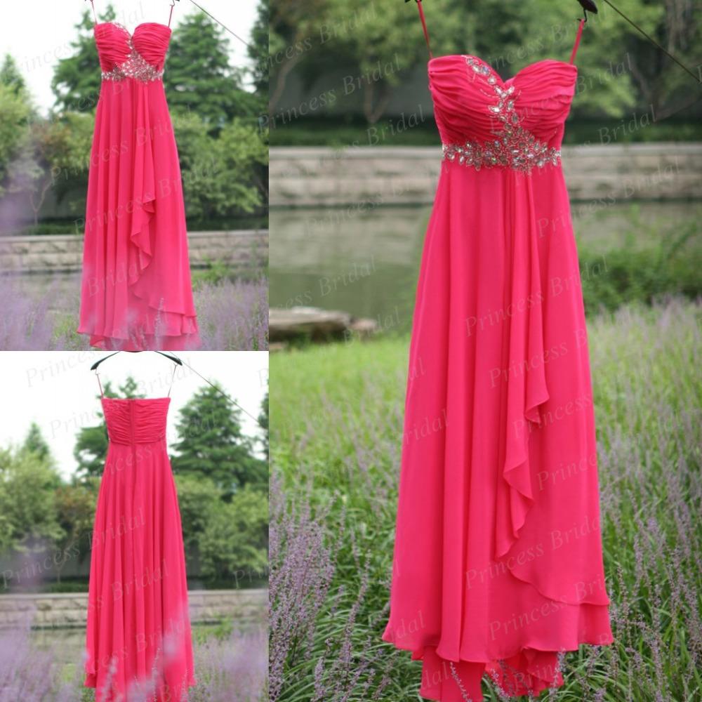 Free Shipping Sheath Sweetheart Floor Length Flowing Chiffon Evening Long Dress Silk Real Sample With Top Beadings BK1761(China (Mainland))