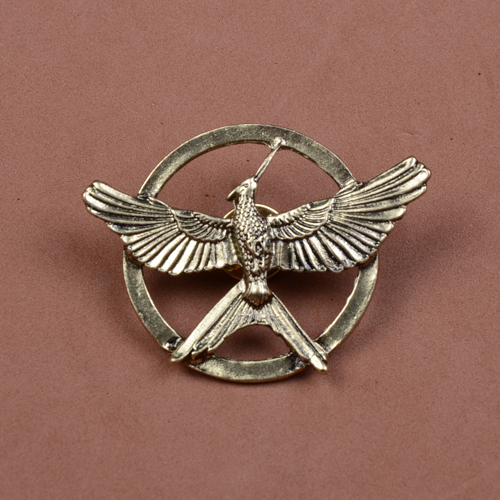 Hunger Game 3 Mockingbird Brooch Hot seller Movie Jewelry Alloy Broochs LM-B048 - Lovedelicate Co.,Ltd store