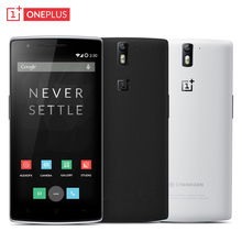 Original OnePlus One Mobile Phone 3GB RAM 16GB ROM 5 5 Screen Snapdragon 801 Quad Core