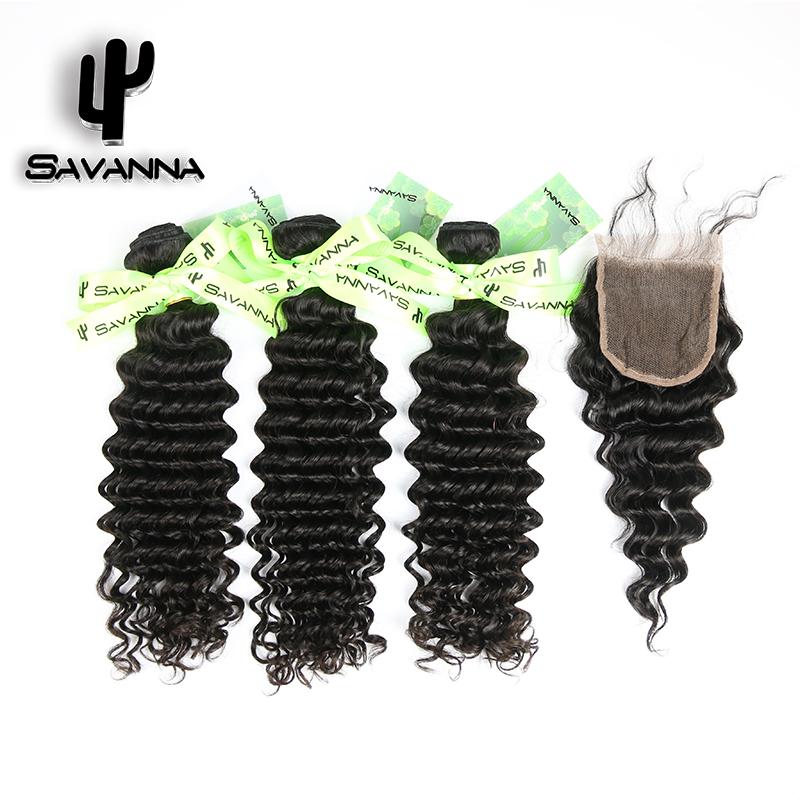Peruvian Deep Wave Virgin Hair With Closure 3 Bundles Peruvian Virgin Hair With Deep Wave Closure Extension Hair Weave Savanna<br><br>Aliexpress