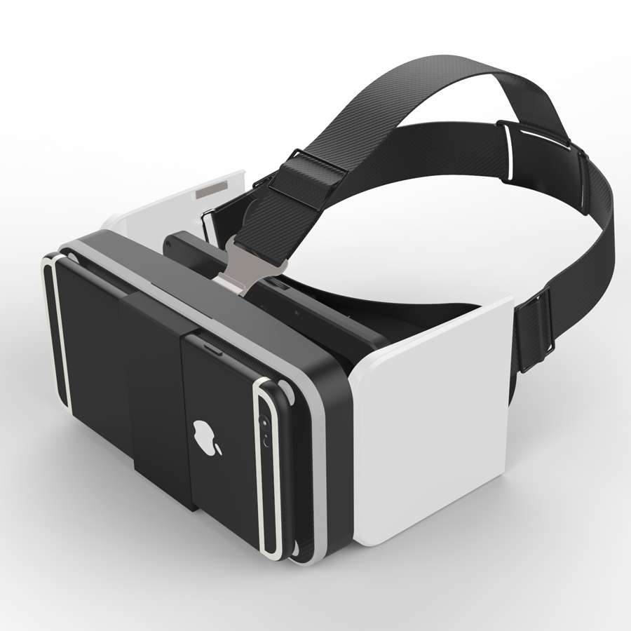 3d virtual reality VR glasses glasses Portable folding VR BOX immersion phone BOX 4.7-6.0 inch for samsung iphone xiaomi huawei(China (Mainland))