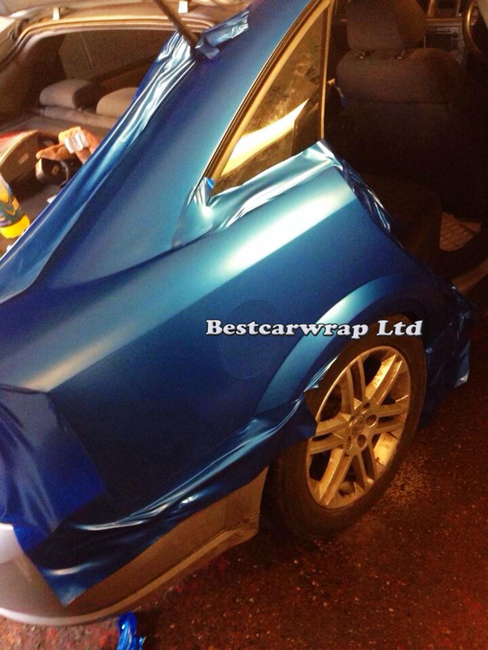 Satin pearl blue matt vinyl car wrap film with air release (1).JPG