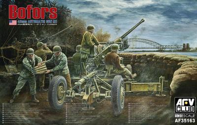 AFV Club 35163 1/35 40mm AUTOMATIC GUN M1(BOFORS 40mm AA) <br><br>Aliexpress
