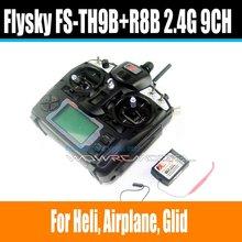 FlySky FS TH9X FS-TH9X FS-TH9X-B FS-TH9B 2.4G 9CH Radio Set System ( TX FS-TH9X + RX FS-R9B FS-R8B) RC 9CH Transmitter +Receiver(China (Mainland))