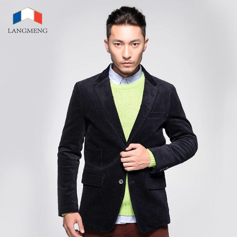 2014 free shipping men spring autumn outwear warm clothes man brand blazer coats jackets fashion casual blazers two buttonsОдежда и ак�е��уары<br><br><br>Aliexpress
