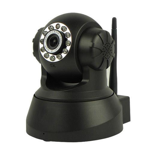 WPS Wireless WiFi Dual Audio IR Night Vision Speed Monitor CCTV Security Surveillance Webcam Network IP Camera C1046A(China (Mainland))