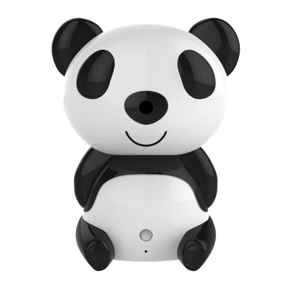 Фотография HD 1280 X 720P Wireless Video Baby Monitor Night Vision Cute Panda Cloud Network IP Camera with Two-way Intercom Wide Angle Lens