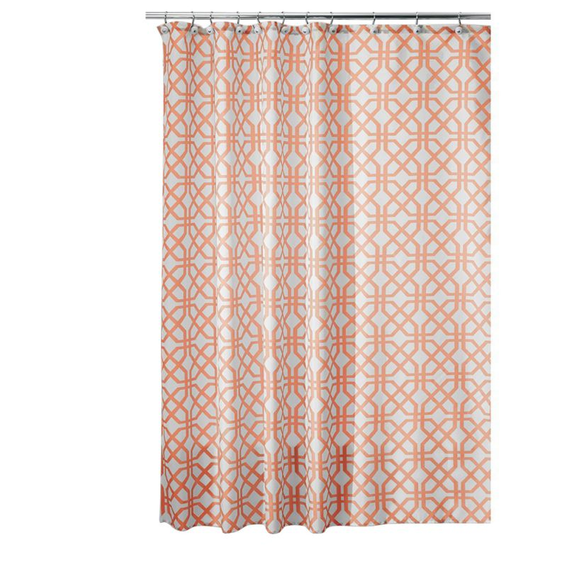 2016 New Inter Design Trellis Fabric Shower Curtain 72 In Shower Curtains From Home Kitchen