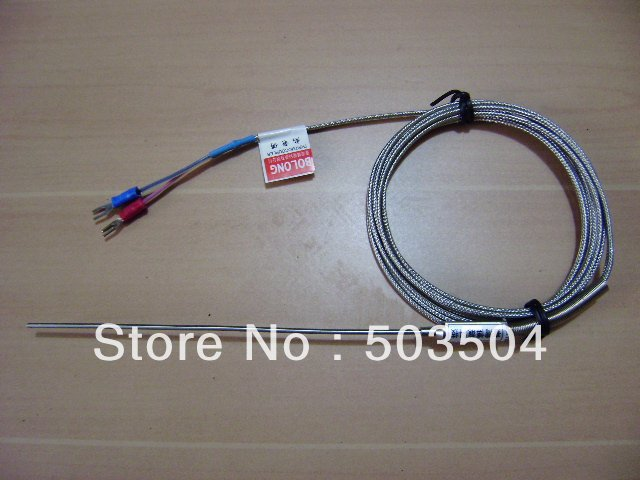 thermocouple with compensating cable, 0-1000C, K type , temperature sensor, two wire system, EMS Free shipping<br><br>Aliexpress
