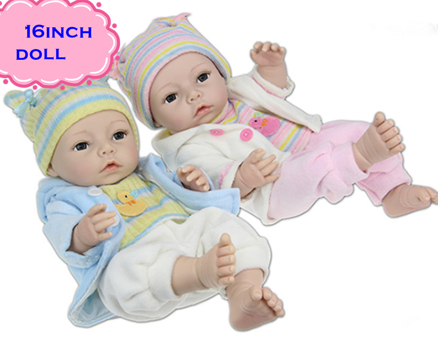 Фотография 2016 Best Gifts NPK Full Silicone Reborn Baby Dolls For People You Love High Quality Soft Vinyl Baby Dolls Brinquedos For Sale