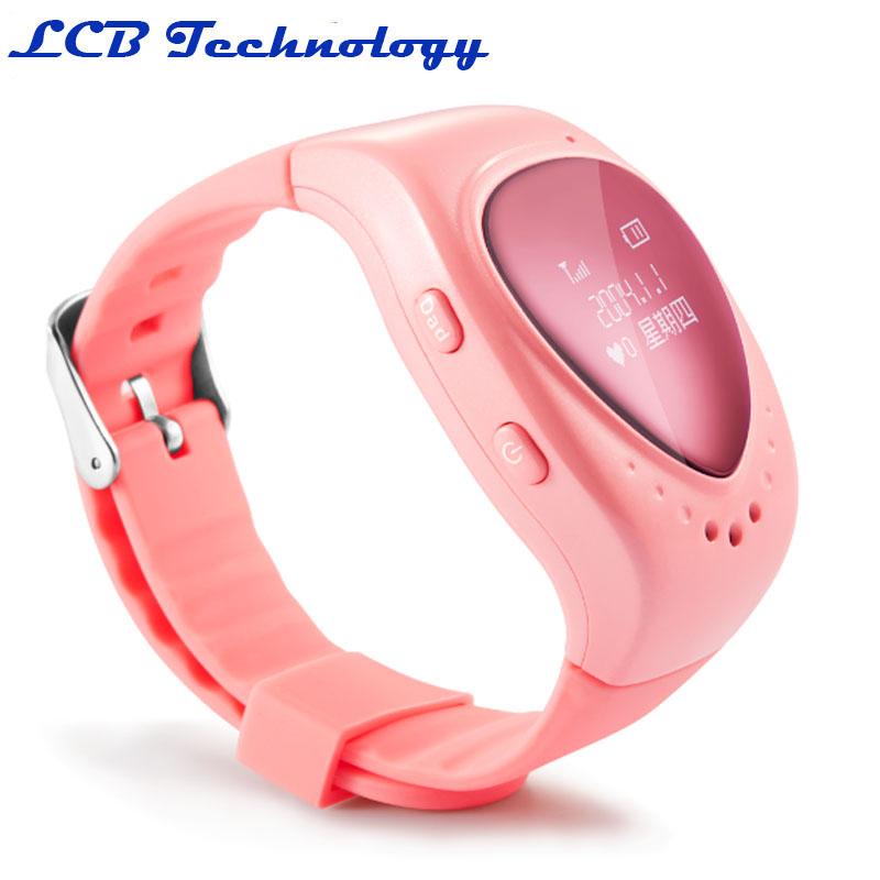 2PC /LOT GPS Watch Tracker For Kids Smart Wrist GPS Tracker Fall Off Alarm GPS+WIFI+LBS Locating Free Fee GPS Platform Lifetime(China (Mainland))