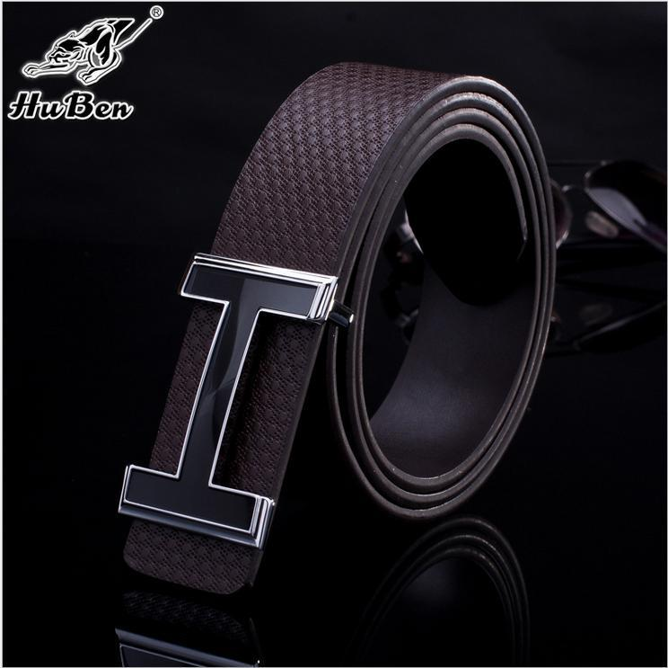 2015 New Fashion brand designer men belt luxury cowhide High quality belts for men women Jeans pants genuine leather h belts(China (Mainland))
