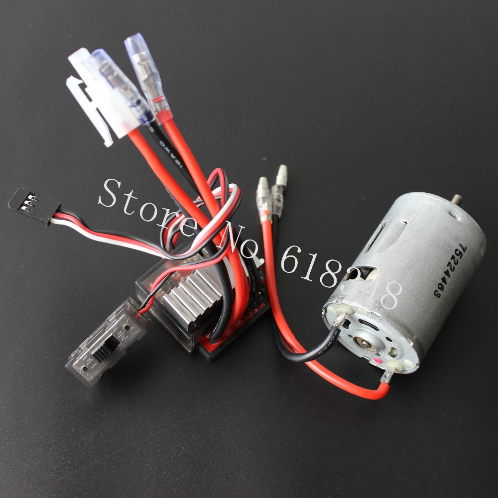 320A Brush ESC With 540 Motor HSP 03011 RS540 26 Turn Brushed Electric Engine Motor For 1/10 RC Hobby Car(China (Mainland))