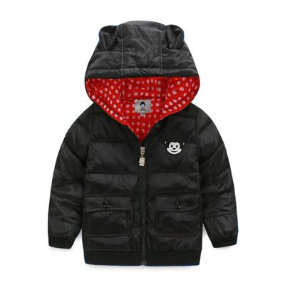 Enfants hiver ensembles de vêtements coupe - vent ski capuche Down & Parkas + pantalon enfants hiver neige définit garçons plein air chaud costume(China (Mainland))