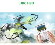 Free Shipping JJRC H9D FPV 6-Axis 4CH mini drone kit RC Quadcopter with Camera Pocket rc plane electric helicopter kids toys(China (Mainland))