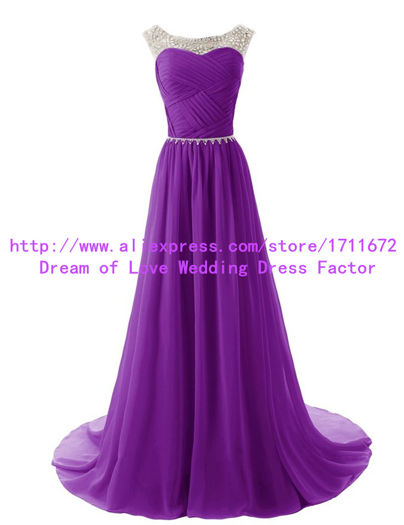 Purple Prom Dresses 2016 Long Cheap 10