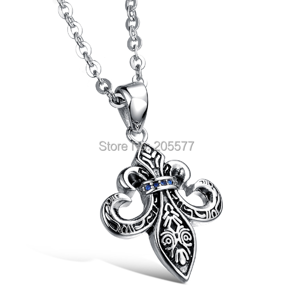 2015 discount high quality health titanium metal male jewelry Anchors pendants necklace jewelry for men colgantes para hombre(China (Mainland))