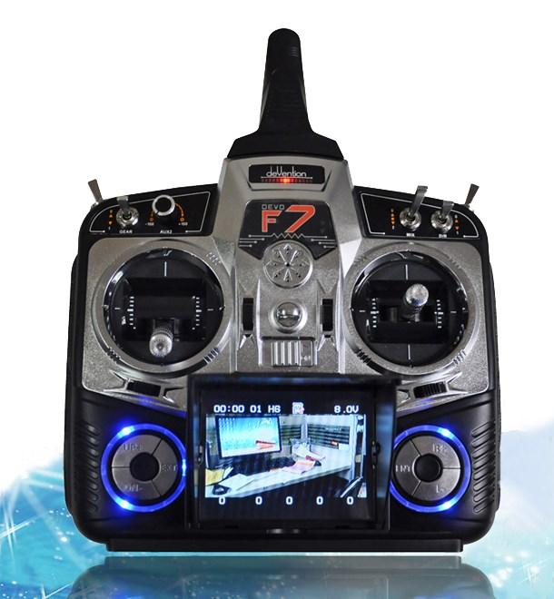 Walkera Devo F7 7 Channel LCD Display FPV Camera Transmitter<br><br>Aliexpress