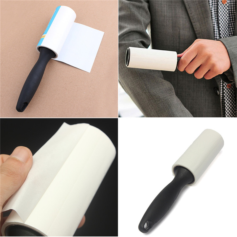 Brand New Quickly and effectively Pet Dog Cat Lint Hair Remover Clothes Sticky Dust Dandruff Roller Brush Cleaner Home(China (Mainland))
