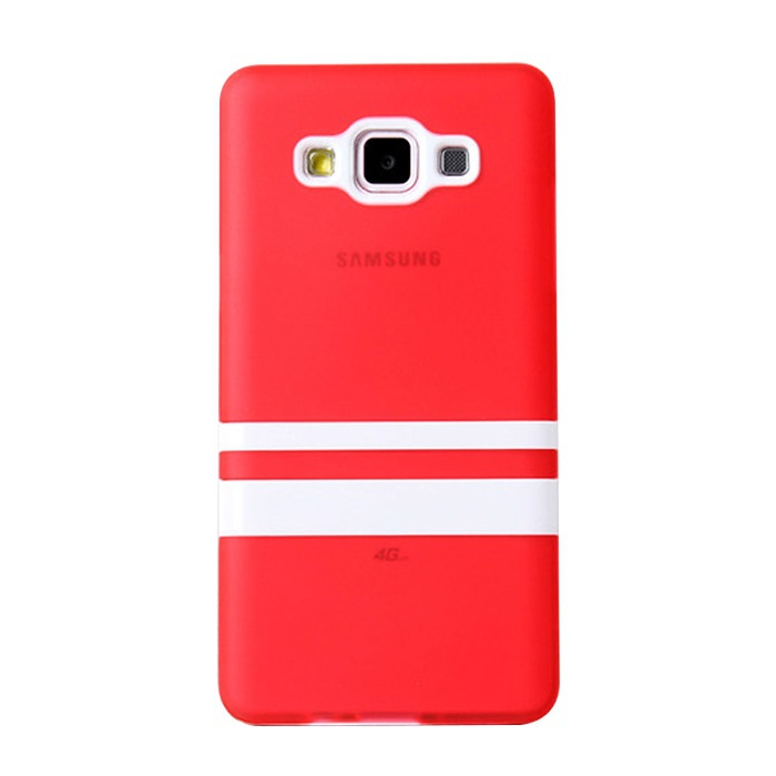 New 2 IN 1 Stand Parallel Bars Plastic Frame Phone Cases Fashion Ultrathin Protective TPU Back Cover For Samsung Galaxy A5(China (Mainland))
