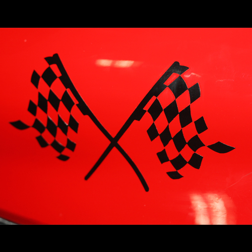 car decals racing font b chequered b font flag applique car 15cm 8cm motorcycle e bike