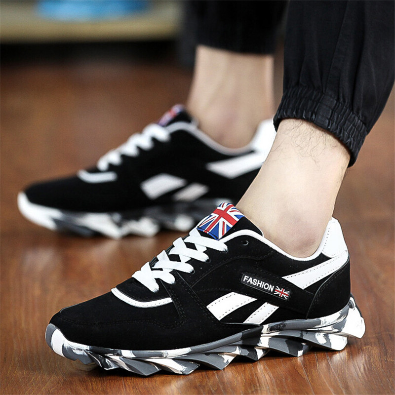 2015 autumn new sneakers breathable running shoes mens sports shoes trainers canvas sneakers for men shoes 39-44