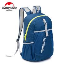 NatureHike Printing Backpack Sport MenTravel Bag Women Backpack Ultralight Outdoor Rucksack Leisure Schoolbags Bags 22L(China (Mainland))