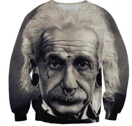 Hot fashion Women/Men Einstein 3D print Hoodies funny Pullovers sweats retro/vintage sweatshirts streetwear puls size stock - GuangZhou Raisevern International Clothing Co. Ltd store