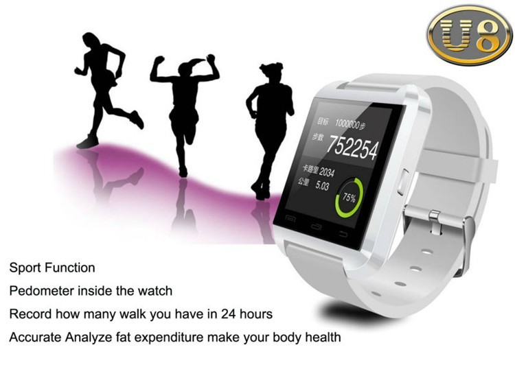 Free shipping Consumer Electronics Wearable Electronic Device Watches Multi function Bluetooth Smart Watch For Phones