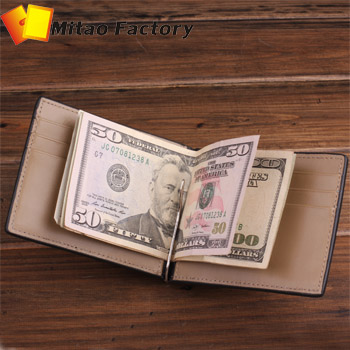 MITAO man wallet  FACTORY supply vegetalbe man slimfld  moeny clip black, coffee purple wallet made by hand in free shipping<br><br>Aliexpress