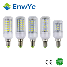 E14 5730 Led Lamps 220V 230V 240V 7W 12W 15W 18W 20W LED Lights Corn Led Bulb Christmas Chandelier Candle Lighting 360 degree(China (Mainland))