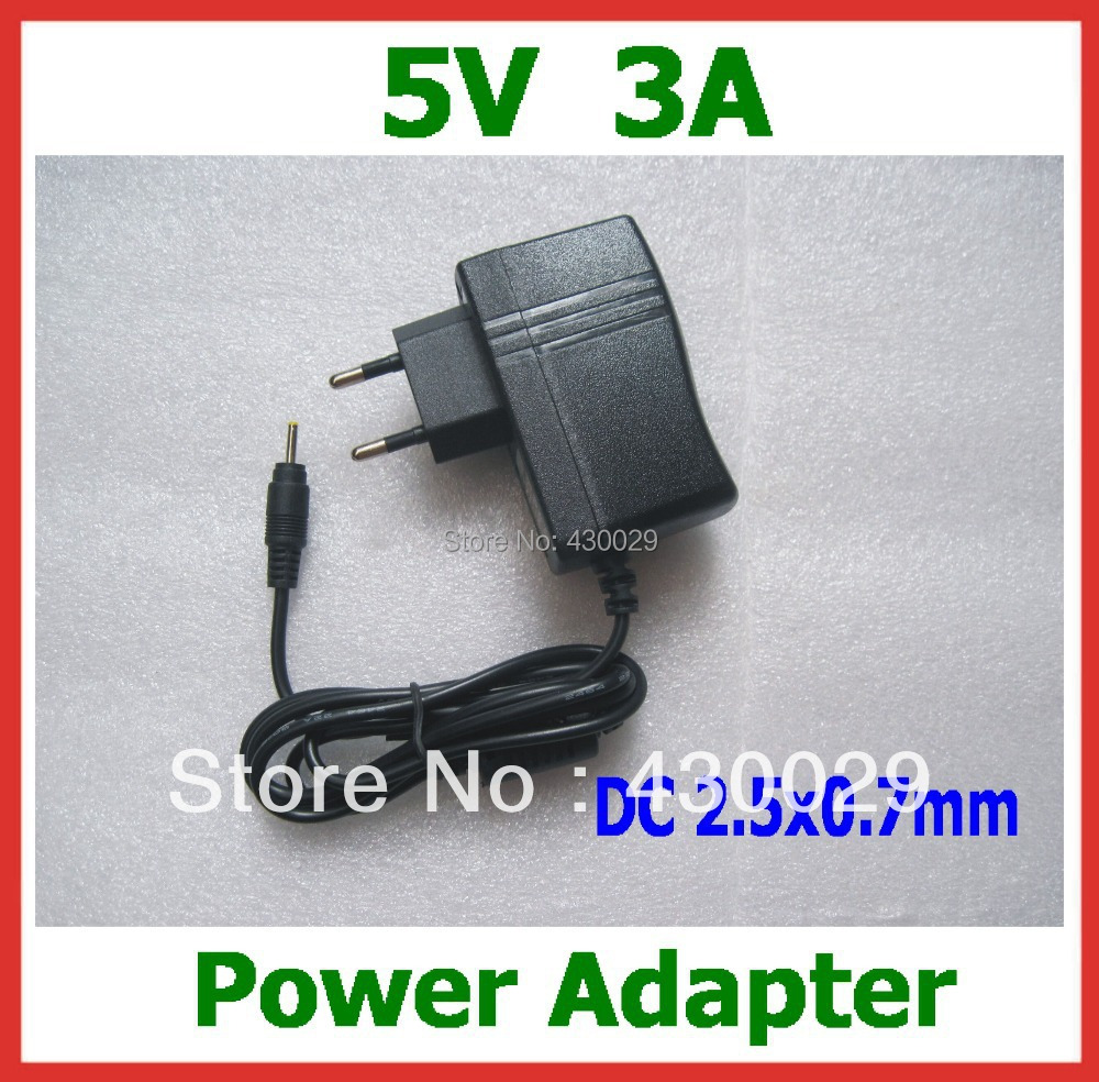 5V 3A Power Adapter DC 2.5mm / 2.5x0.7mm Charger Quad Core Tablet Sanei N10 Ampe A10 Ainol Hero II Spark T7s Chuwi V99 V88 - Shenzhen Yuyang Weichuang Co., Store store