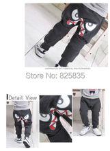 NEW Style Popular Kids Boys Girl Unique Clothes Harem Pants Trousers Cartoon Kids Sz2 7Y