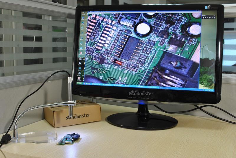 Электронный микроскоп из веб камеры