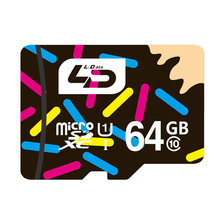 LD 64GB Micro SD card Class 10 SDXC Memory Card for Tablet