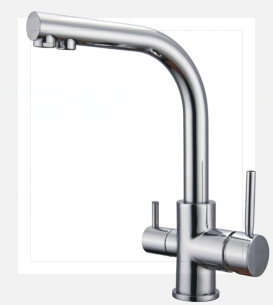 drinking water tap three way faucet for filter in kitchen sinks from