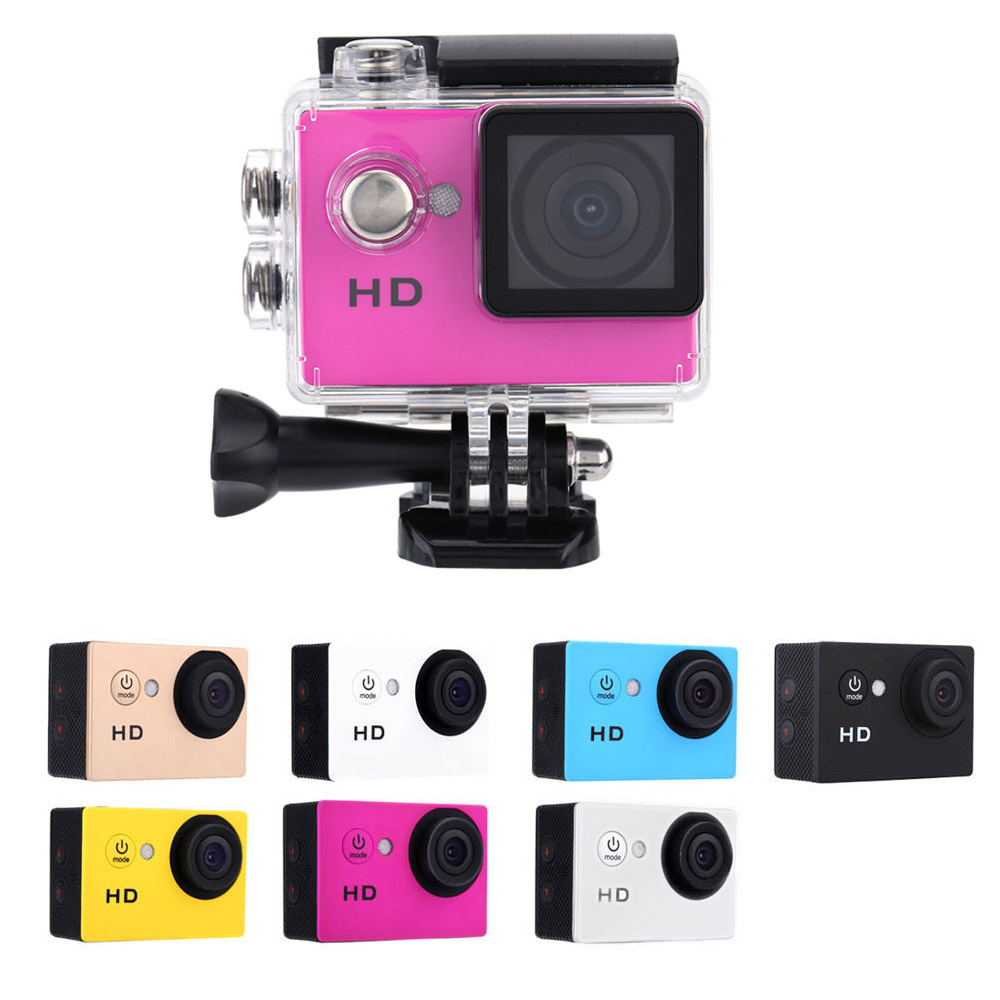 "A7 HD 720P Sport DV Action Camera 2.0"" LCD 90 Degree Wide Angle Lens 30M Waterproof Mini Digital Camcorder(China (Mainland))"
