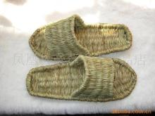Green sandals hemp slippers handmade hemp shoes natural sandals massage sandals