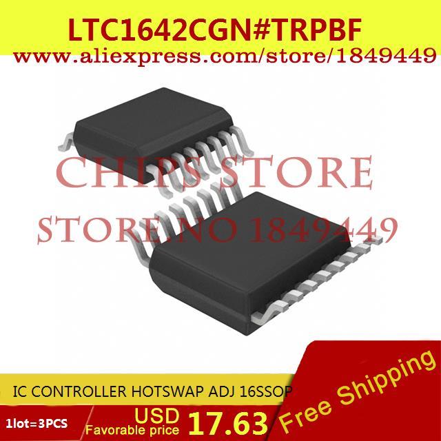 Free Shipping Hot Sell Integrated Circuits Original LTC1642CGN#TRPBF IC CONTROLLER HOTSWAP ADJ 16SSOP LTC1642CGN 1642 LTC1642 3p(China (Mainland))