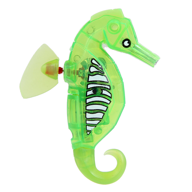 Activated Battery Powered Robot Hippocampus Toy Childen Kids Robotic Pet Electronic Pets
