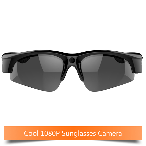 Real 1080P Lightweight UV400 protection sun glasses camera action camera(China (Mainland))