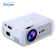 2016 HOT Everycom X7 Mini Video Projector FULL HD 1080p Home Theater led TV Beamer mini portable lcd Proyector(China (Mainland))