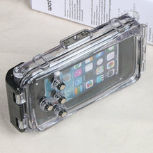 Waterproof following from for iPhone6 6 splus diving 40 meters underwater photography photo anti-corrosion protection shell