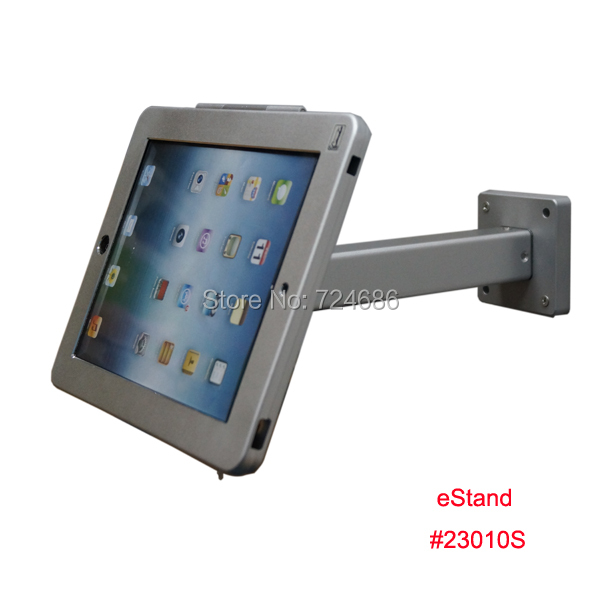 ipad 2/3/4/air wall mount anti-theft enclosure holder safe bracket display retail store - Guangzhou Bill Electronic Technology Co., Ltd