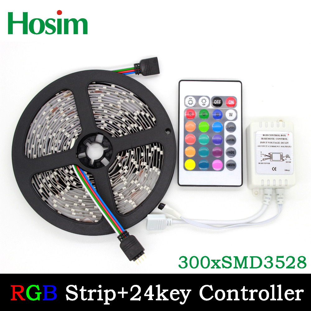 5m 300 LED 3528 SMD 12V flexible light 60 led/m,LED strip, white/warm white/blue/green/red/yellow/rgb(China (Mainland))
