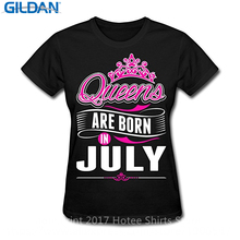Buy Tee Shirt Unisex Size Colors Gildan Queens Born July Party Gift July Birthday Short Sleeve Fashion 2017 T for $11.89 in AliExpress store