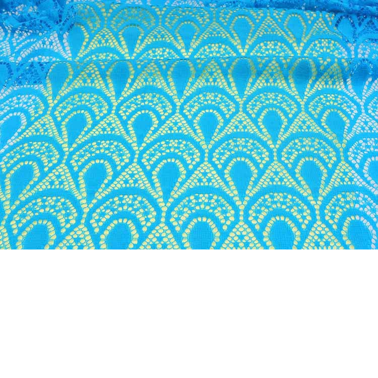 Warp knitted 100% polyamide Lace fabric / Quality bud silk fabric wholesale/ wedding dress cloth lace fabric material wholesale(China (Mainland))