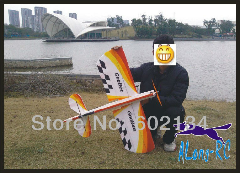 EPP PLANE/ RC 3D airplane/RC MODEL HOBBY TOYS/-wingspan 1000mm GeeBee 3D plane(kit)(China (Mainland))