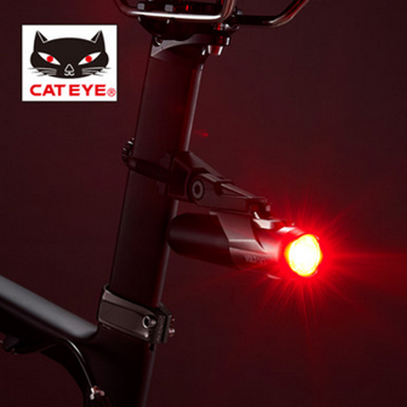 Cateye cat-eye volt50 usb charge type super bright rear light 4 bicycle accessories<br><br>Aliexpress